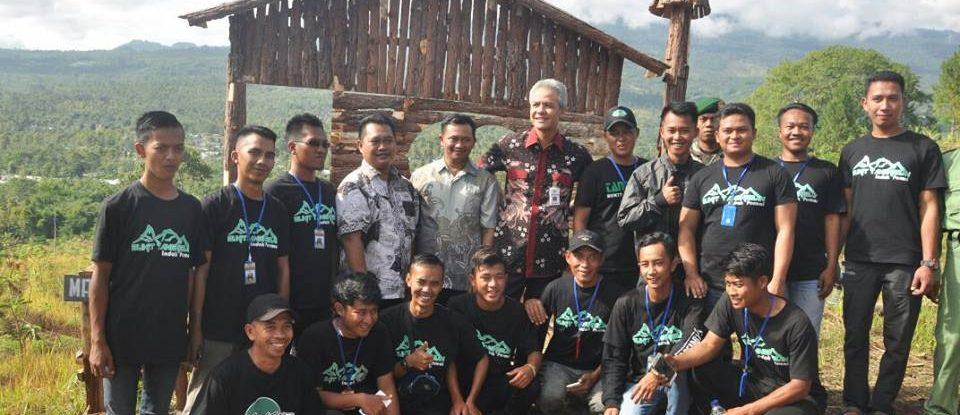 Kunjungan Bapak Gubernur Jawa Tengah di Bukit Tangkeban